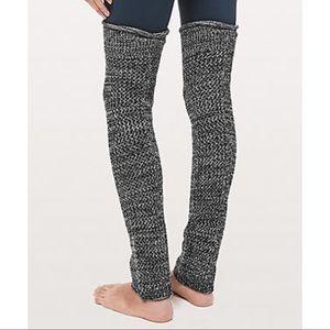 LuluLemon   Knit leg warmers